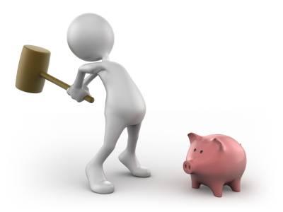 Behöver man krossa sin spargris för att få ekonomin att gå ihop?